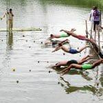 Rangpur Cadet College Swiming