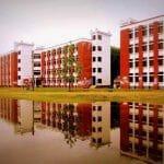 Academic Building at Begum Rokeya University