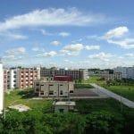 Campus Rear at Begum Rokeya University