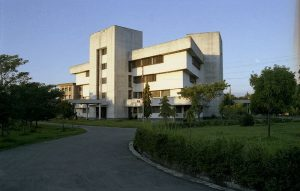 Central Library Building at Shahjalal Univesity of Science and Technology
