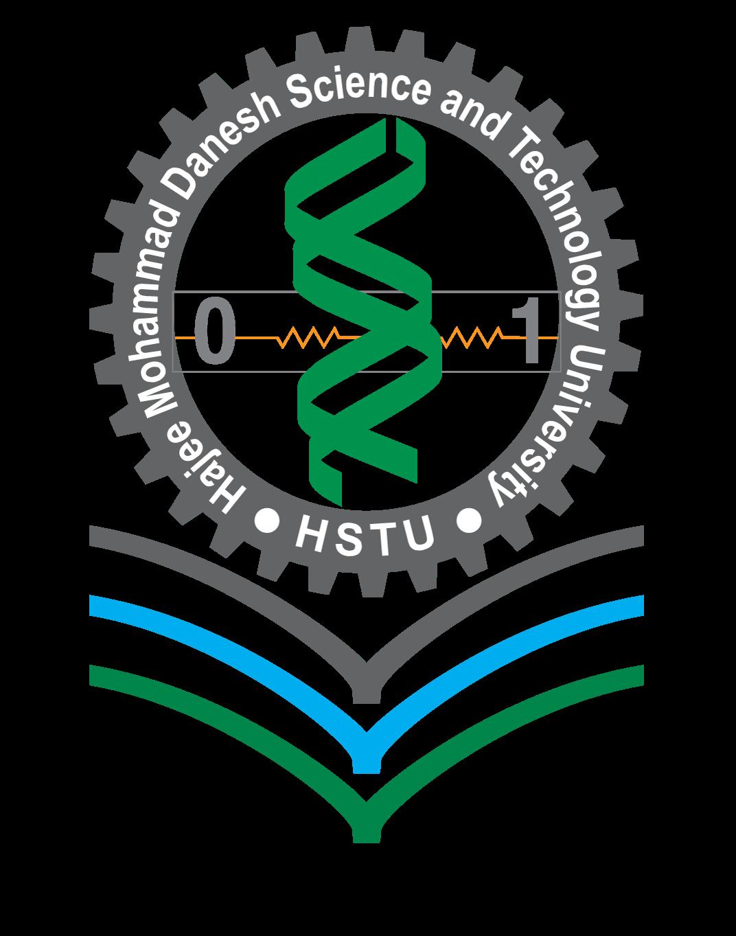 Hajee Mohammad Danesh Science And Technology University Logo
