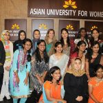 Asian University for Women Students in 2012