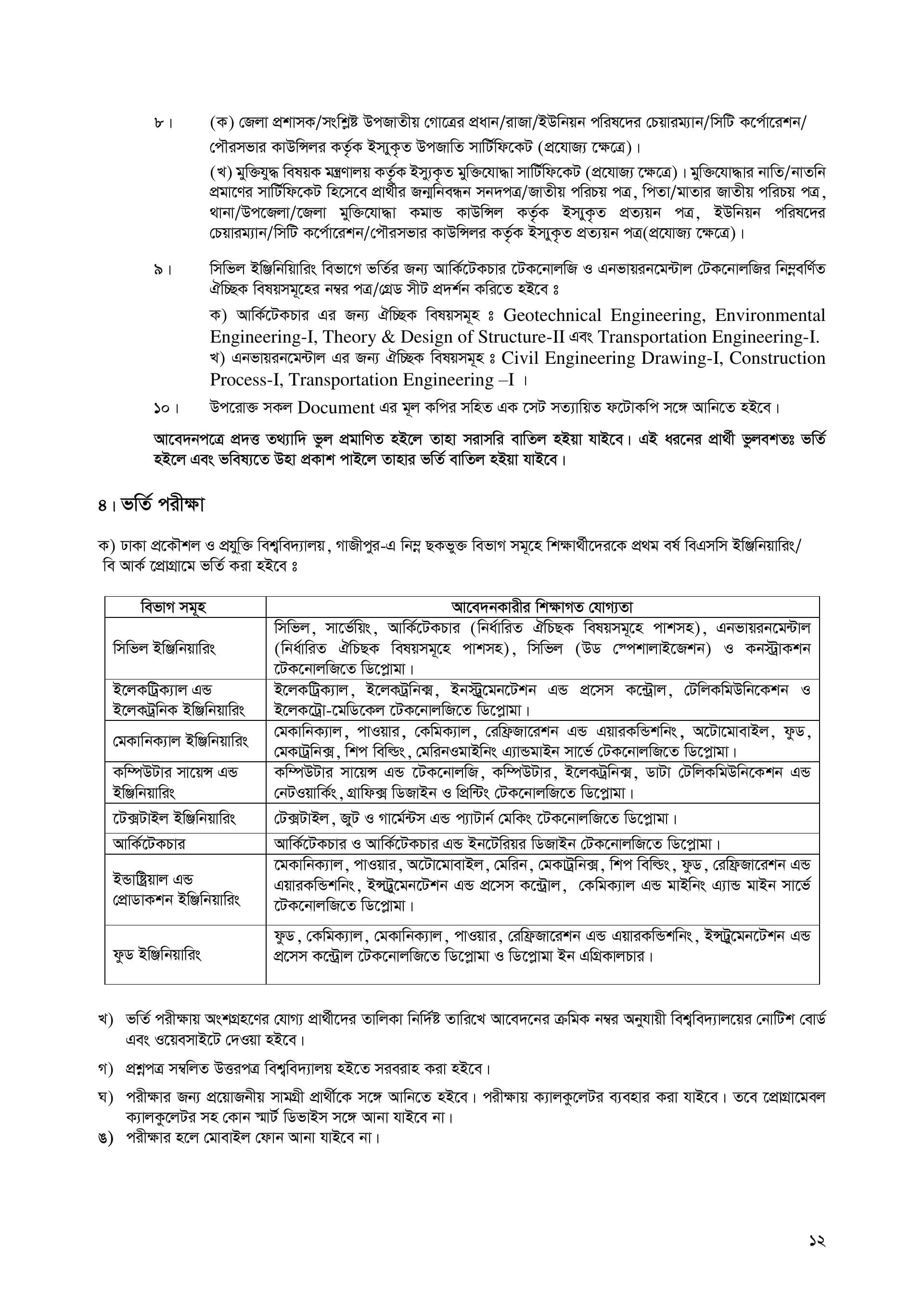 DUET Admission guideline-12
