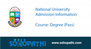 National University Admission Degree