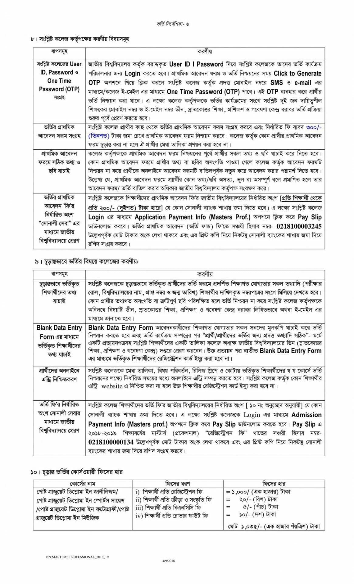 National University Admission Masters guideline-5