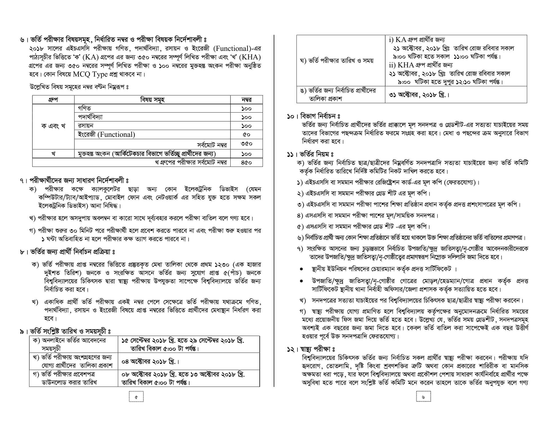 Ruet Admission Guideline-2