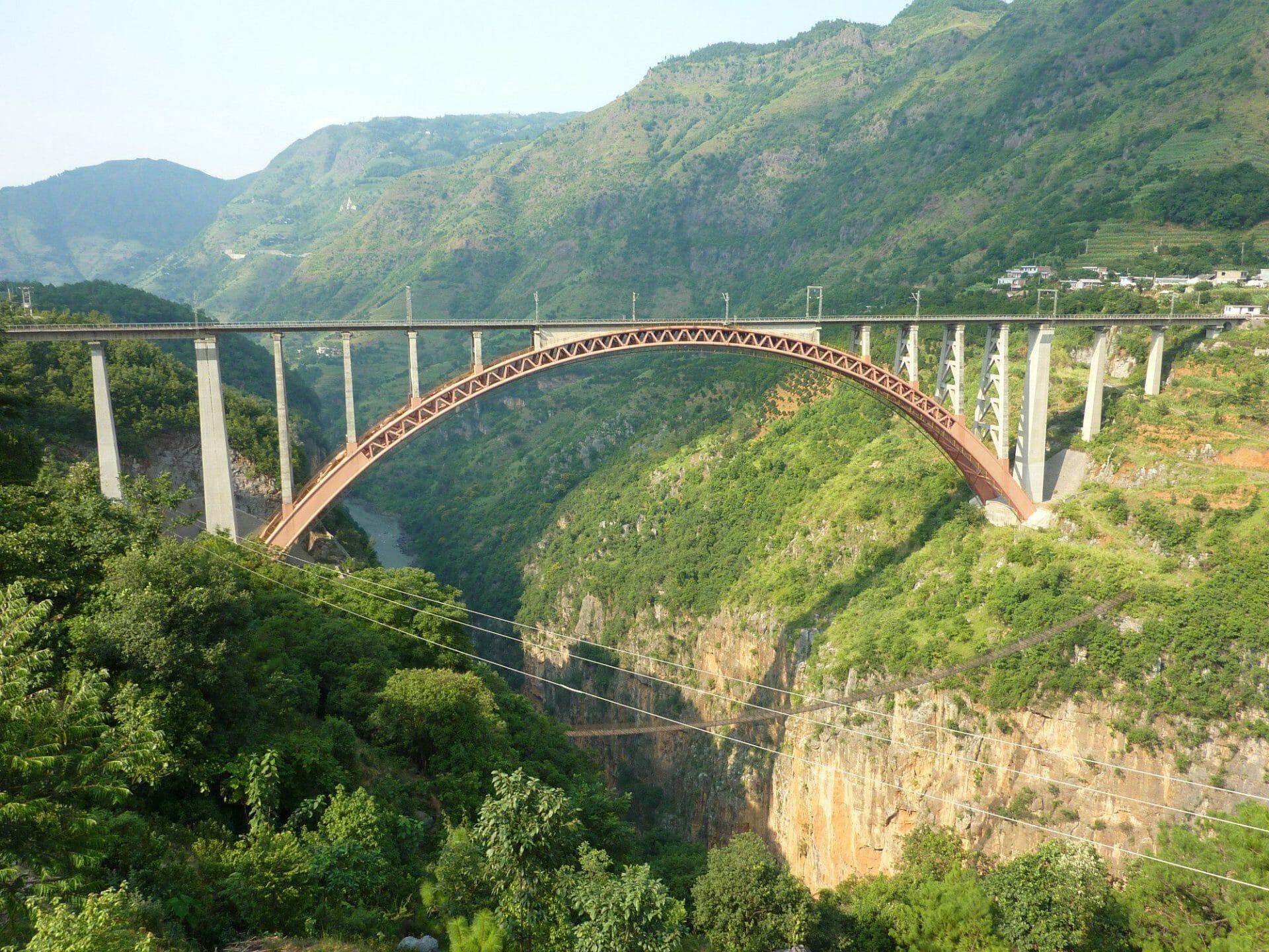 Beipanjiang Railway Bridge Shuibai