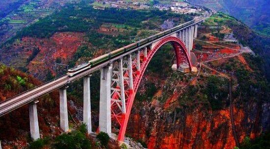 Najiehe Railway Bridge