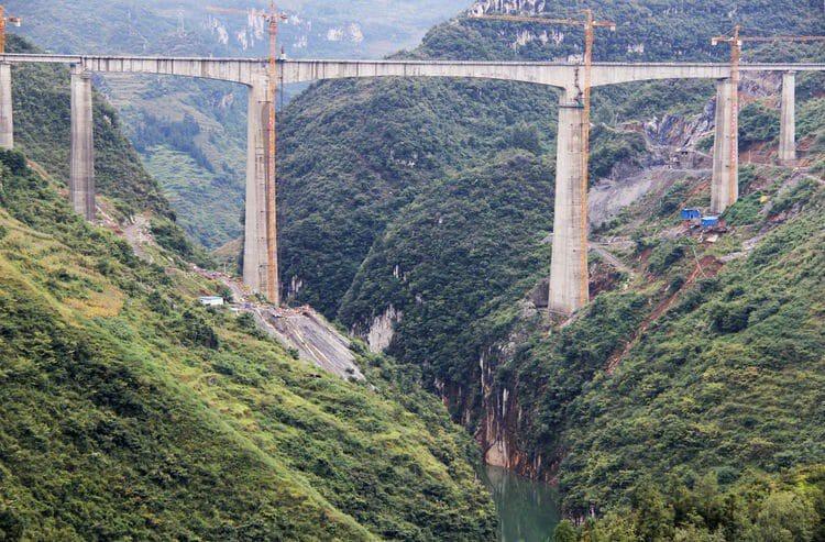 Wuzuo River Railway Bridge