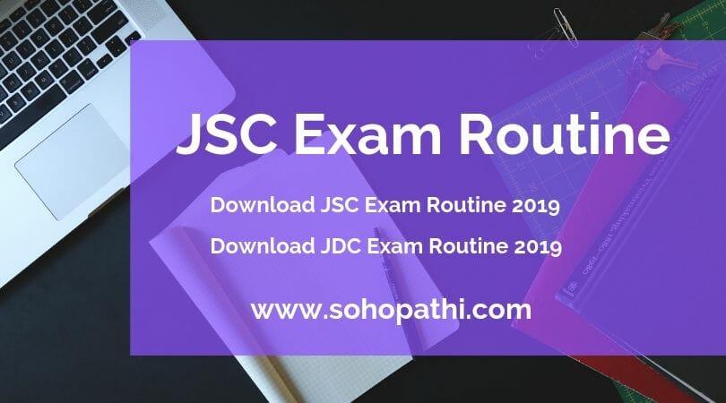 JSC Exam Routine